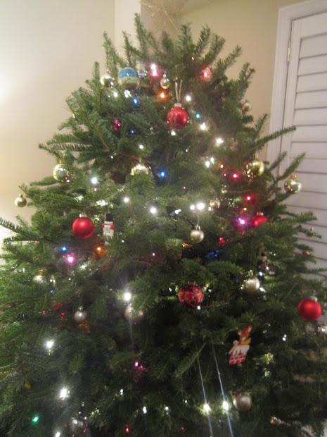 Angel Hair Christmas Tree Decoration
