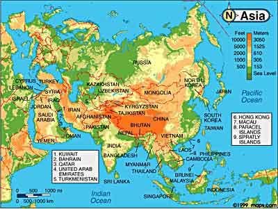 Asian Area 70