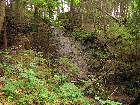 Wodospad Kartuzów (słow. Kartuziánsky vodopád).