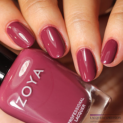 nail polish swatch and review of Kendra from the Zoya Element collection for Fall 2018