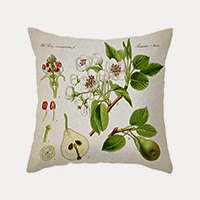 Fruit & Flowers Pillow