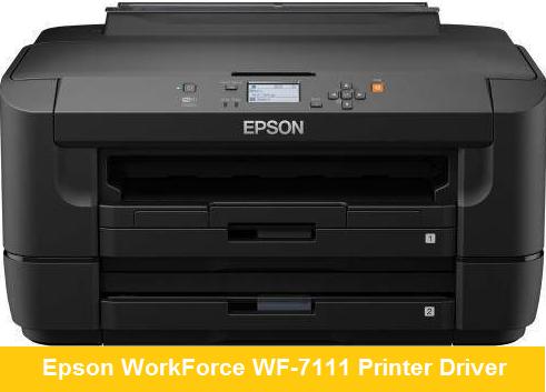 Epson WorkForce WF-7111 Printer Driver & Software - Download