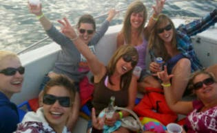 bachelor party, bachelorette party, booze cruise, cocktail cruise, private cruise, Gulf Shores, Orange Beach