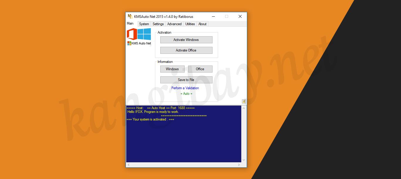 Tutorial Mudah Mengaktifkan Windows 10 Menggunakan KMSAuto Net