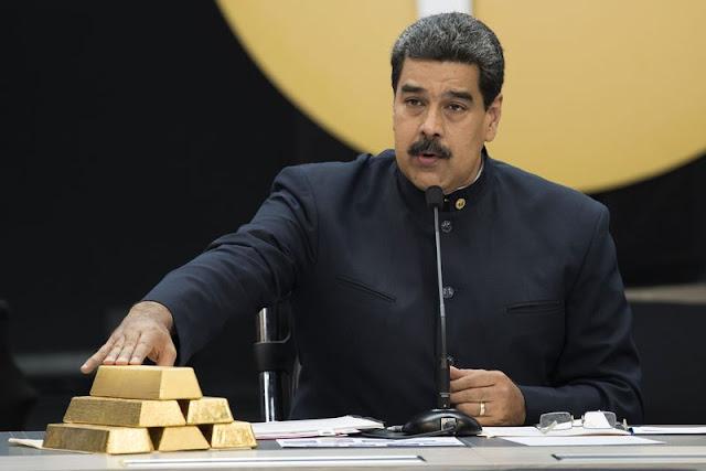 El régimen de Maduro detiene el envío de 20 toneladas de oro de Venezuela