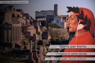 DANTE PER ROMA - L'INFERNO IN SETTE SERATE