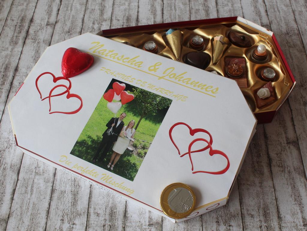 Geld Pralinen Basteln Hochzeitsgeschenk Geldpralinen Uberrascht