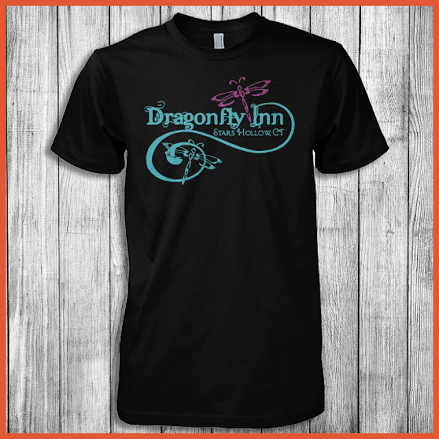 Dragonfly Inn Stars Hollow, Ct T-Shirt