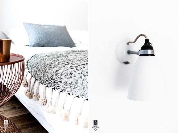 Un appartamento di 55 mq a Parigi firmato Royal Roulotte camera da letto
