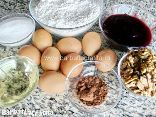 Prajitura cu gem zi si noapte Ingredientele necesare pentru a prepara reteta