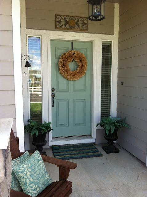 Wythe Blue {exterior front door color} | Favorite Paint ...