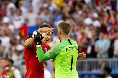 世界杯四强中 夺冠赔率:法国第一 看好英格兰进决赛