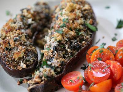 Three delicious recipes with eggplant