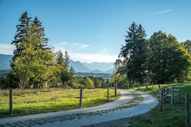 Meditationsweg Ammergauer Alpen im Blauen Land  Etappe 3 Murnau - Aidling 20