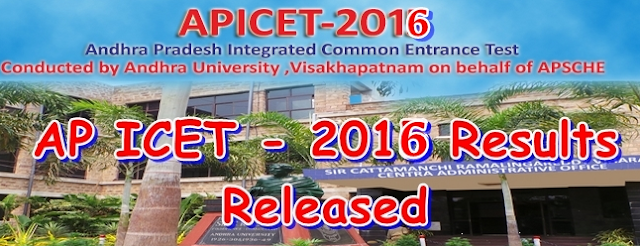 AP ICET 2016 Results AP ICET 2016 Results Date apicet.net.in