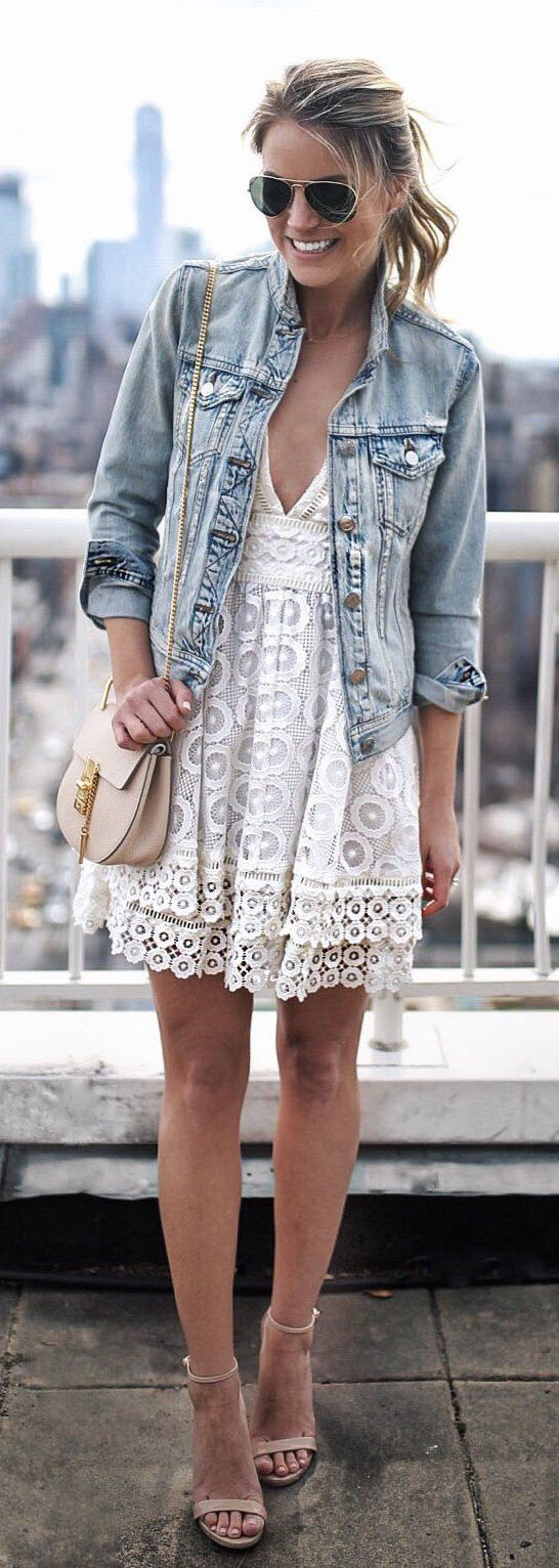 Pretty Spring Outfits To Wear This Spring #SpringOutfits