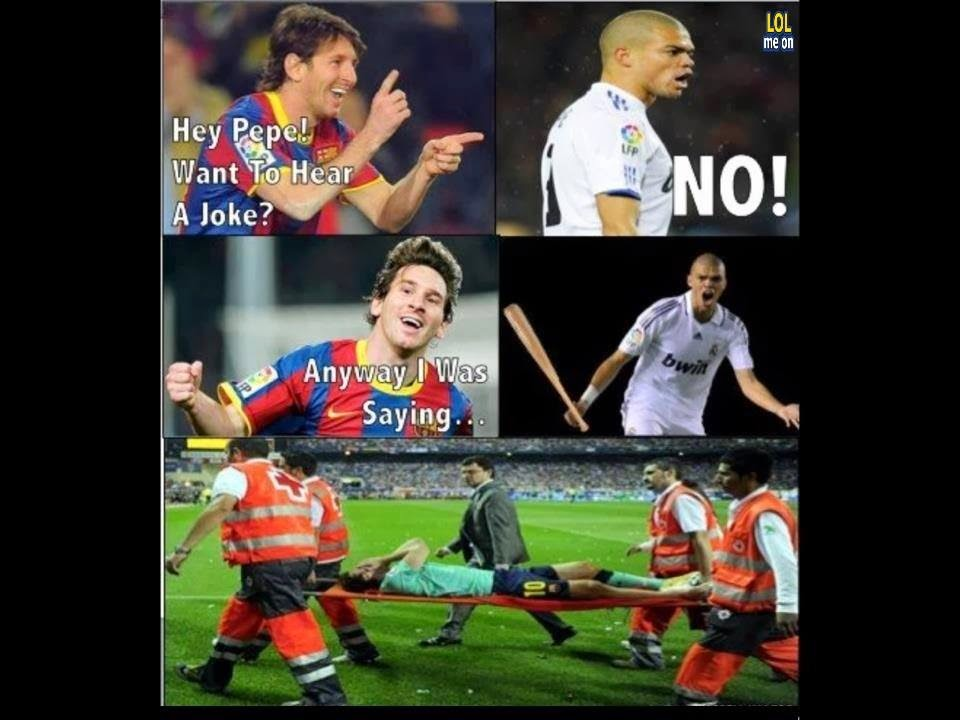 never play with Pepe - funny sport picture