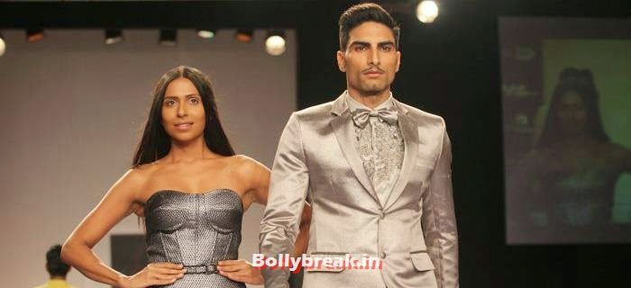 Candice Pinto, Indian Supermodels Walk for Rajat K Tangri Show at Lakme Fashion Week