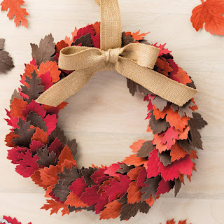 Stampin' Up! Vintage Leaves Autumn Wreath
