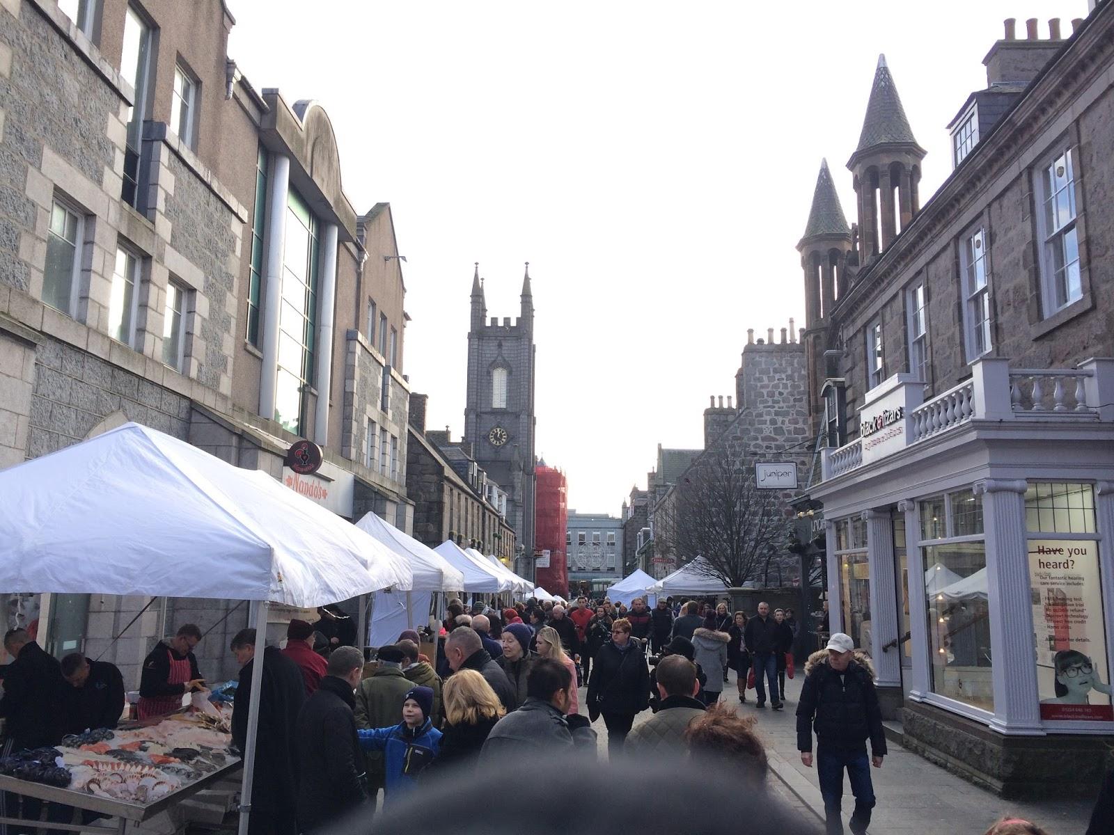 Ameri Ecosse Exploring Aberdeen A Pictorial