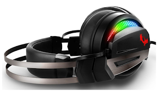 GH70 New gaming headset 7.1 RGB