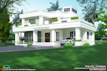 2969 Sq-ft Modern 4 Bhk Architecture Home - Kerala