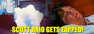 Scott Baio gets zapped in the 1982 movie