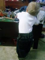Organic Denim Toddler Pants