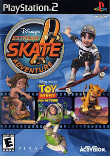 Disney Extreme Skate Adventure ps2