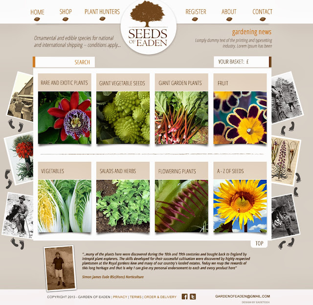 flowers and vegetable pictures for seed shop