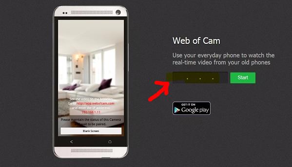 طريقة سهلة لتحويل هاتفك الى كامرا مراقبة من اي مكان