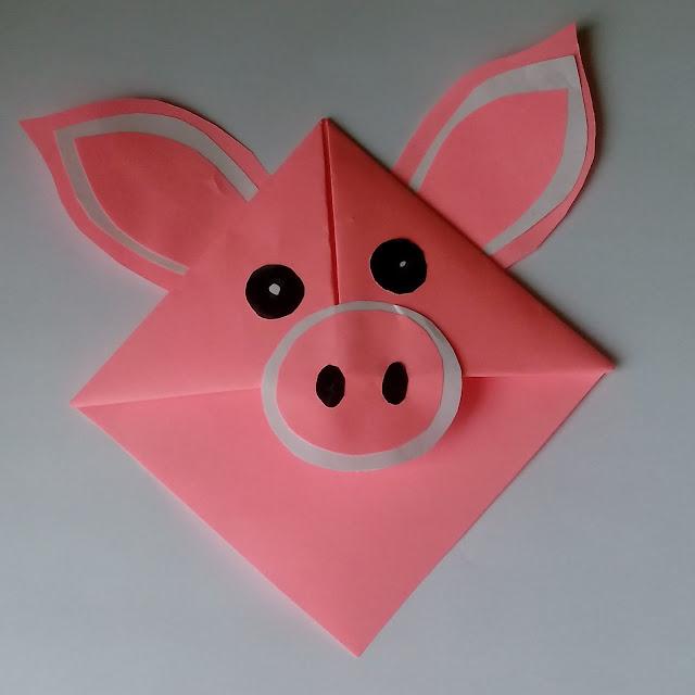 zakładka świnka