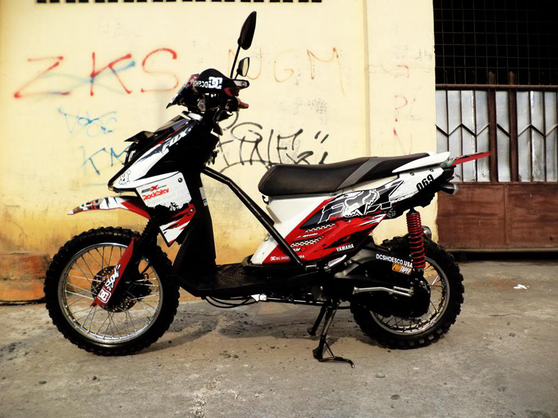 contoh x ride modifikasi touring