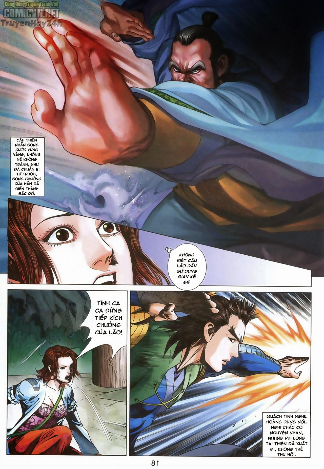 Anh Hùng Xạ Điêu anh hùng xạ đêu chap 67: quyết chiến hiên viên đài trang 17