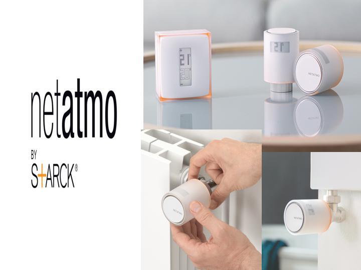 Starck 39 in blog starck vannes thermostatique connect es netatmo by starck - Vanne thermostatique connectee ...