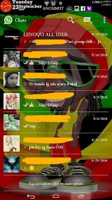 whatsapp mod transparan