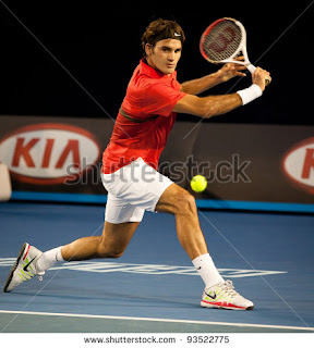 Swiss tennis legend Roger federer