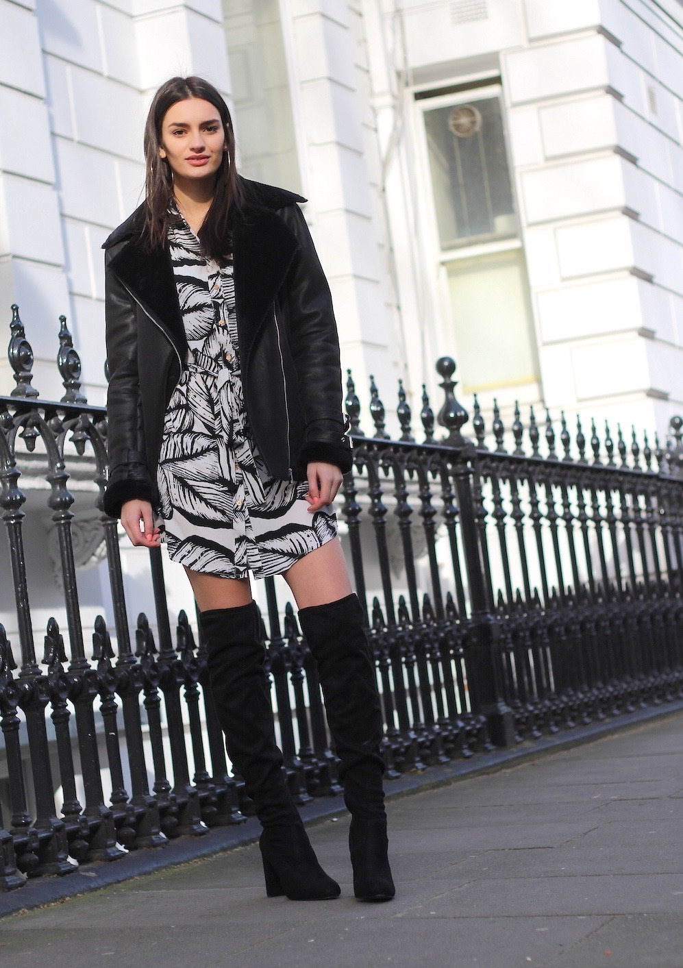 uk blogger peexo transitional outfit