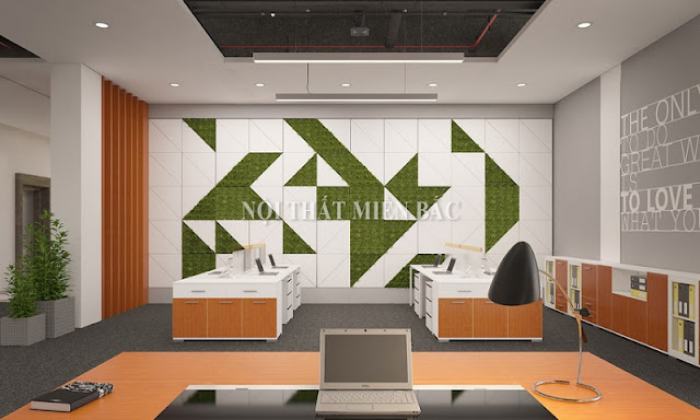 Tư vấn thiết kế phòng làm việc sáng tạo và chuyên nghiệp - H3