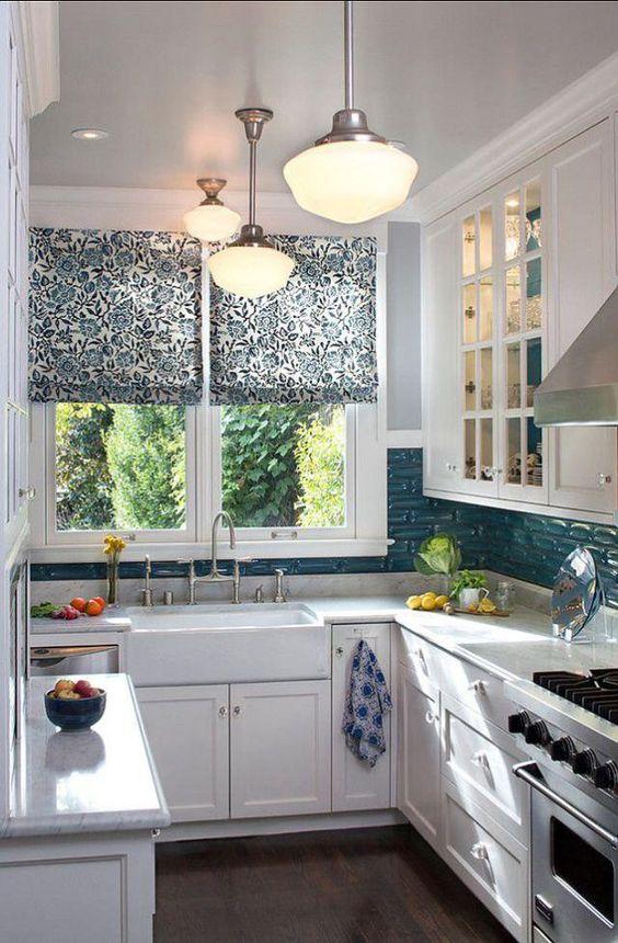 Hogar diez 15 cocinas peque as y bonitas for Cocinas bonitas y practicas