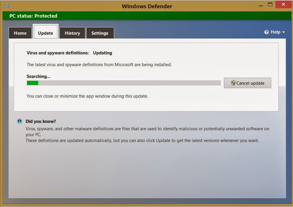 COMPUTERS AND OTHERS: How To Fix Microsoft Security Client Error