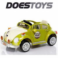 Mobil Mainan Aki Doestoys DT8015 Retro XL