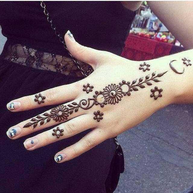 Tutorial Ide Cara Menggambar Henna Berbagai Motif Contoh Gambar Henna