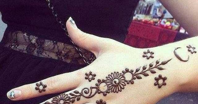 47 Contoh Gambar Tato Henna Di Tangan