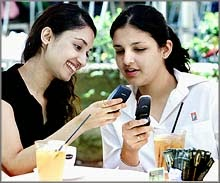 Missed call sms text message joke in Hindi with images pictures.