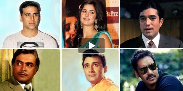 Listen to Bollywood Actors Songs on Raaga.com