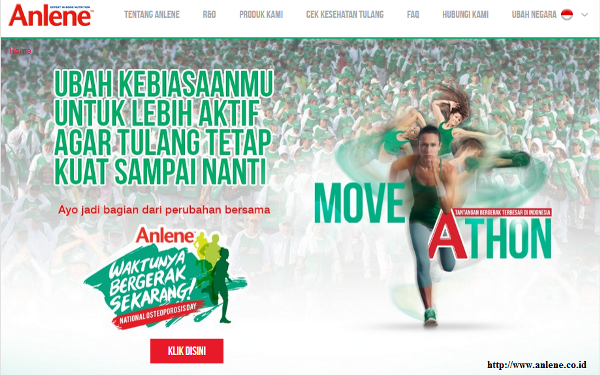 Anlene Indonesia : anlene.co.id