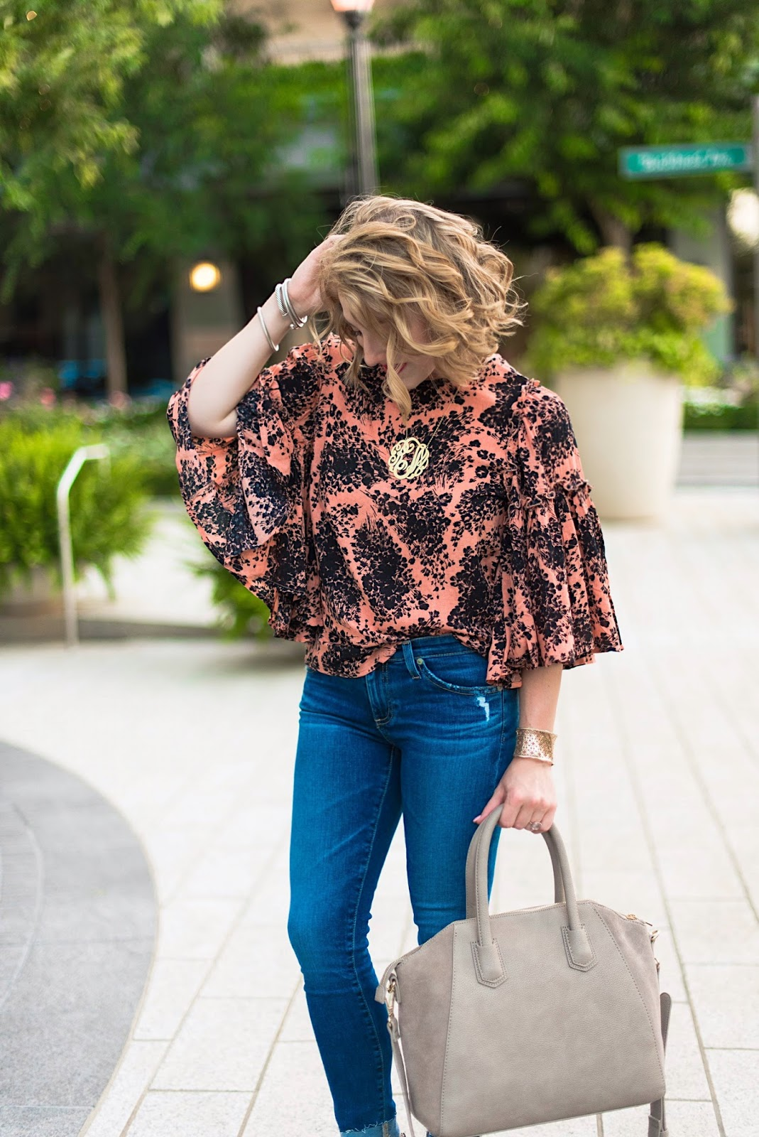 Transition Outfit - Click through to see more on Something Delightful Blog!