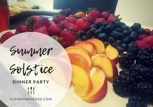 A Summer Solstice Dinner Party 2018