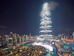 بالفيديو احتفالات راس السنة 2018 في دبي بث مباشر برج خليفة اون لاين افراح والعاب نارية تتزين بها سماء الامارات الان